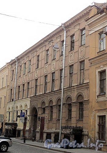 Галерная ул., д. 11. Фасад здания. Фото июнь 2010 г.