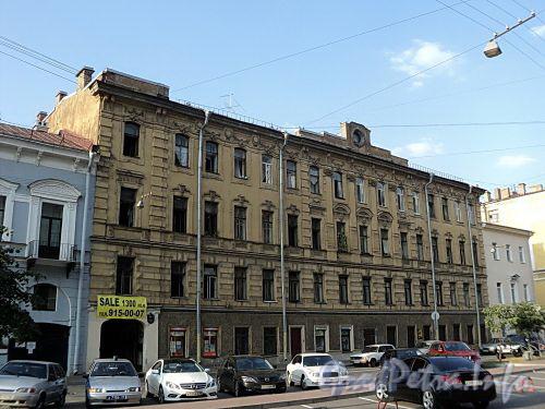 Захарьевская ул., д. 12. Общий вид. Фото июль 2010 г.