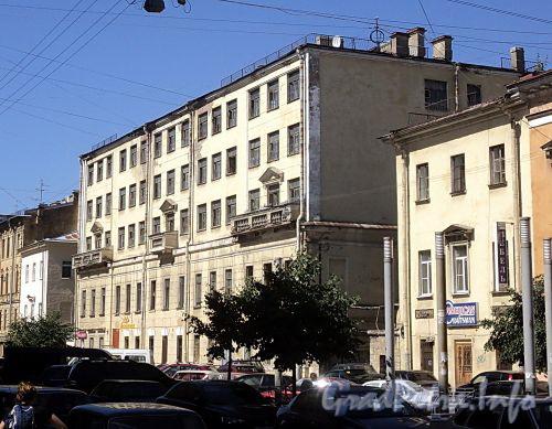 Захарьевская ул., д. 14. Общий вид. Фото июль 2010 г.