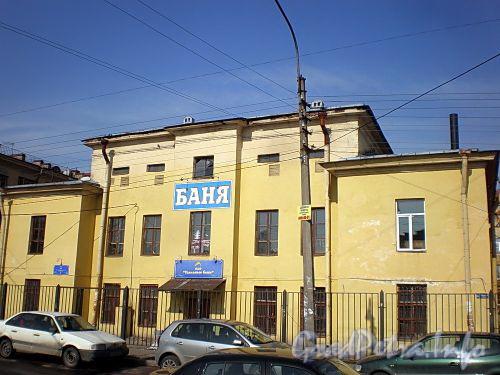 Елецкая ул., д. 15. Удельные бани. Фасад здания. Фото апрель 2010 г.