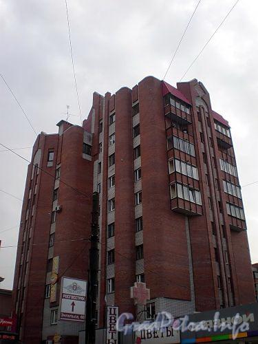 Енотаевская ул., д. 4, корп. 3. Общий вид с проспекта Энгельса. Фото апрель 2010 г.