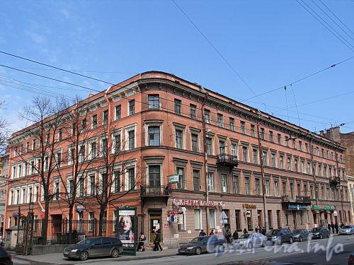 Кирочная ул., д. 8, лит. А (лицевой корпус). Общий вид. Фото май 2010 г.