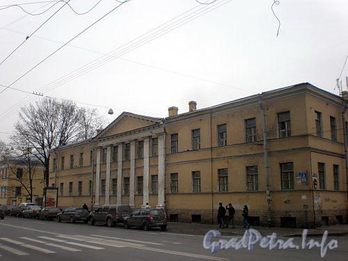 Кирочная ул., д. 31 (правый корпус) / ул. Радищева, д. 41. Общий вид. Фото март 2010 г.
