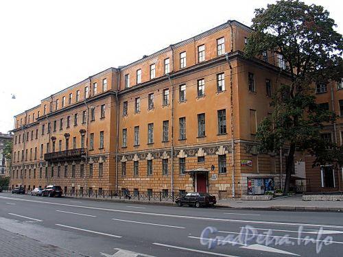 Кирочная ул., д. 54. Главный корпус. Общий вид. Фото сентябрь 2010 г.