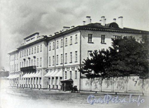 Кирочная ул., д. 54. Главное здание. Общий вид. Фото 1888 года. (с сайта школы № 163)