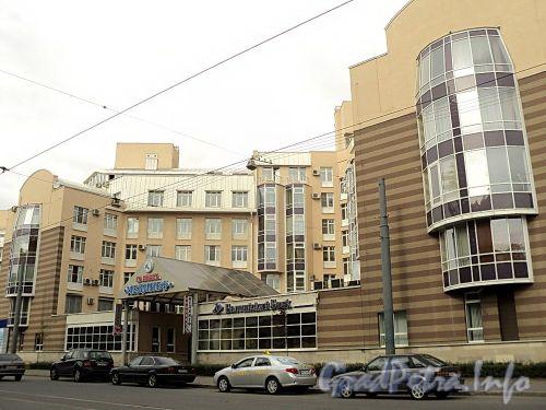 Боткинская ул., д. 15, корп. 1. Фрагмент фасада. Фото сентябрь 2010 г.
