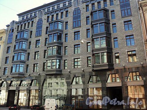 Тверская ул., д. 1, лит. А. Фасад здания. Фото август 2010 г.