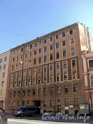 Тверская ул., д. 7. Фасад здания. Фото август 2010 г.
