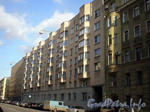 Тверская ул., д. 15. Фасад лицевого корпуса. Фото апрель 2009 г.