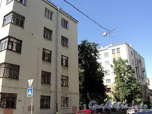 Тверская ул., д. 16. Лицевой и дворовый корпуса. Вид со Ставропольской улицы. Фото август 2010 г.