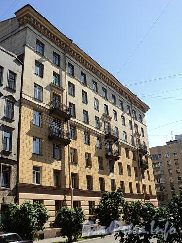 Тверская ул., д. 18. Фасад по Ставропольской улице. Фото август 2010 г.