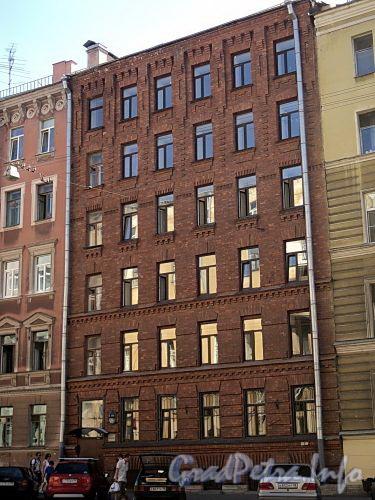 Тверская ул., д. 25. Фасад здания. Фото август 2010 г.