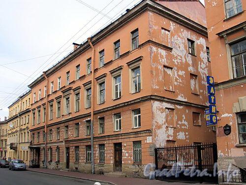 Гагаринская ул., д. 12 (левый корпус). Общий вид. Фото сентябрь 2010 г.