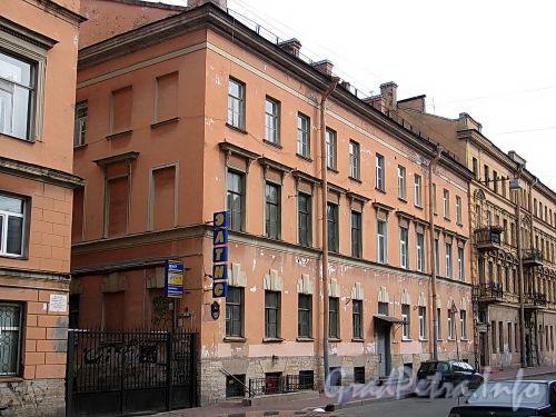Гагаринская ул., д. 12 (правый корпус). Общий вид. Фото сентябрь 2010 г.