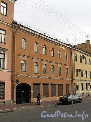 Гагаринская ул., д. 22. Фасад здания. Фото сентябрь 2010 г.