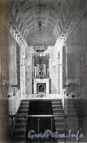 Лестница в особняке Нейгардтов. Фото 1910-х гг. (из книги «Литейная часть. От Невы до Кирочной. 1710-1918»).