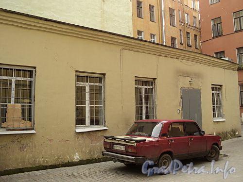 Гагаринская ул., д. 21. Флигель. Фото сентябрь 2010 г.