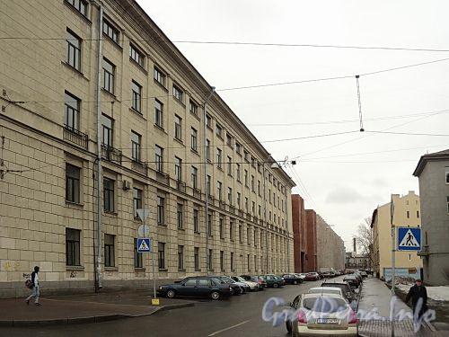 Перспектива Мариинской улицы от Московского проспекта. Фото апрель 2011 г.