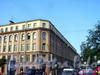 Фурштатская ул., д. 27 / пр. Чернышевского, д. 17. Общий вид. Фото июль 2004 г.