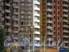 Ул. Димитрова, д. 3, корп. 1. ЖК «Кассиопия». Установка вентилируемых фасадов. Фото август 2011 г.