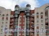 Ул. Ленсовета, д. 88. Фрагмент фасада жилого дома. Фото 2011 г.
