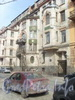 Таврическая ул., д. 5. Фрагмент фасада здания. Фото 2011 г.