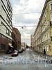 Перспектива улицы Смолячкова от Выборгской набережной в сторону Большого Сампсониевского проспекта. Фото сентябрь 2011 г.