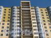 Земледельческая ул., д. 5. ЖК «Фортис». Фрагмент фасада. Фото ноябрь 2011 г.