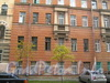 Подольская ул., д. 44. Фрагмент фасада. Фото ноябрь 2011 г.