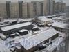 Территория бывшей в/ч на улице Лазо (ныне школьно-мебельное ПО).  Фото 23 декабря 2011 г.