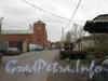 Минеральная ул., д.13. Проезд к Минеральной ул. Вид от складов. Фото 2011 г.
