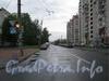 Перспектива Звездной улицы от Пулковской улицы в сторону проспекта Космонавтов. Фото 2011 г.