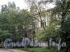 Инструментальная ул., д. 2. Корпус СПбГЭТУ («ЛЭТИ»). Главный фасад. Фото сентябрь 2011 г.