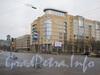 Новый дом на углу Варшавской ул. и Благодатной ул. Фото январь 2012 год.