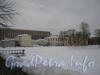 Ул. Летчика Пилютова, дом 1 Университет МВД. Вид со стороны пруда. Фото январь 2012 г.