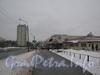 Перспектива улицы Пионерстроя от Рогачевского переулка в сторону улицы Чекистов. Фото январь 2012 г.