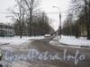 Перспектива участка 2-ой Комсомольской улицы от проспекта Ветеранов в сторону проспекта Народного Ополчения. Фото январь 2012 г.