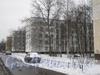 2-я Комсомольская ул., дом 57, корп. 2. Тротуар между 2-ой Комсомольской улицей и улицей Летчика Пилютова. Вдали видны видны 2 и 1 корпуса дома 54 по улице Летчика Пилютова. Фото январь 2012 г.