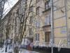 2-я Комсомольская ул., дом 57, корп. 1. Фрагмент фасада жилого дома. Фото январь 2012 г.