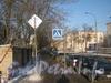 Вид от Рогачёвского пер. на ул. Лётчика Пилютова в сторону ул. Чекистов. Фото январь 2012 г.