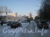 2-я Комсомольская ул., дом 27, корп. 2. Перспектива Добрушской ул. от ул. Лётчика Пилютова. Фото февраль 2012 г.