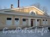 2-я Комсомольская ул., дом 27, корп. 3. Баня № 68 Красносельского района. Вид фасада со стороны Добрушской ул. Фото февраль 2012 г.