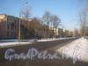 Перспектива нечётной стороны 2-ой Комсомольской улицы, начиная с дома 19 корпус 1. Фото январь 2012 г.