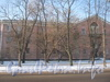 2-я Комсомольская ул., дом 19, корп. 1. Левая часть дома. Фото январь 2012 г.
