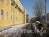 Проезд параллельно 10 дому по 2-ой Комсомольской ул. Вдали слева - дом 9 по ул. Пограничника Гарькавого. Фото январь 2011 г.