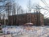 2-я Комсомольская ул., дом 3, корп. 2. Общий вид дома со двора. Фото январь 2011 г.