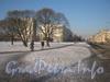 Перспектива ул. Лётчика Пилютова в сторону ул. Чекистов от пр. Ветеранов. Фото февраль 2012 г.