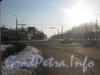 Перспектива ул. Лётчика Пилютова в сторону пр. Народного Ополчения от пр. Ветеранов. Вид от дома 36. Фото февраль 2012 г.