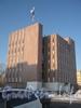 Ул. Летчика Пилютова, дом 7. Здание АТС Красносельского район. Фото февраль 2012 г.