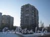 Ул. Летчика Пилютова, дом 13. Вид дома с ул. Лётчика Пилютова. Слева - часть дома 17. Фото февраль 2012 г.
